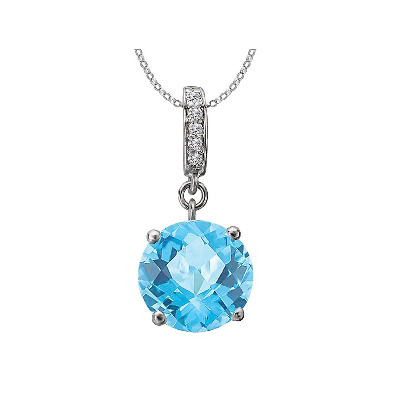 Tesoro Ladies Fashion Gemstone Pendant