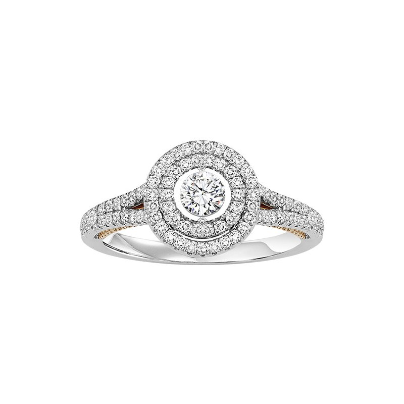 Rhythm of Love 14K Diamond Rhythm Of Love Ring 1 ctw