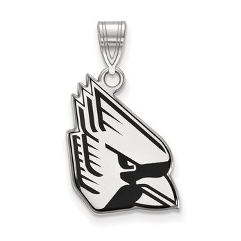 Sterling Silver Ball State University NCAA Pendant