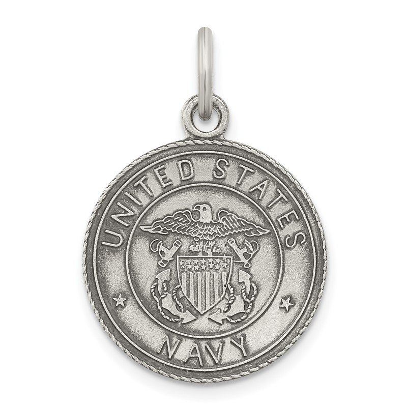 Quality Gold Sterling Silver US Navy Medal