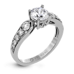 Zeghani ZR1419 ENGAGEMENT RING