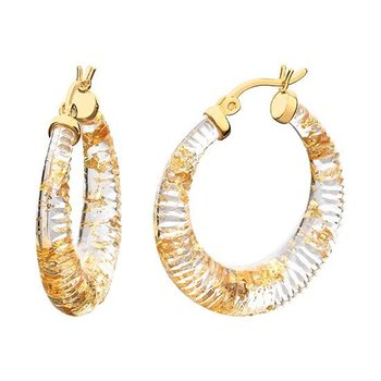 Lucite Hoops 30mm