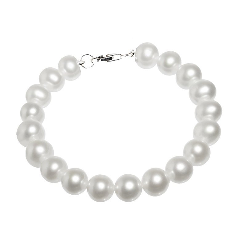 Rhythm of Love Silver Fresh Water Pearl Bracelet