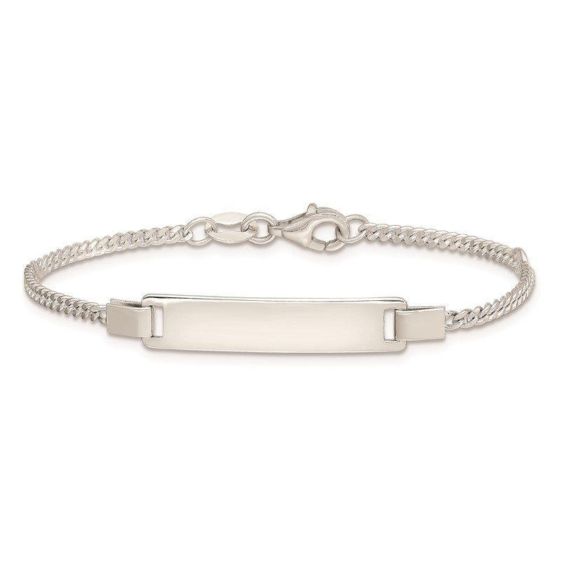 Quality Gold Sterling Silver Adjustable Baby ID Bracelet