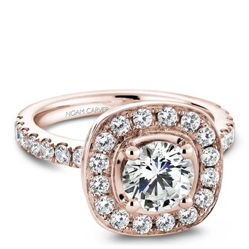 Noam Carver Vintage Engagement Ring B011-01RA