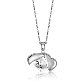 'I Love You' Charm Pendant