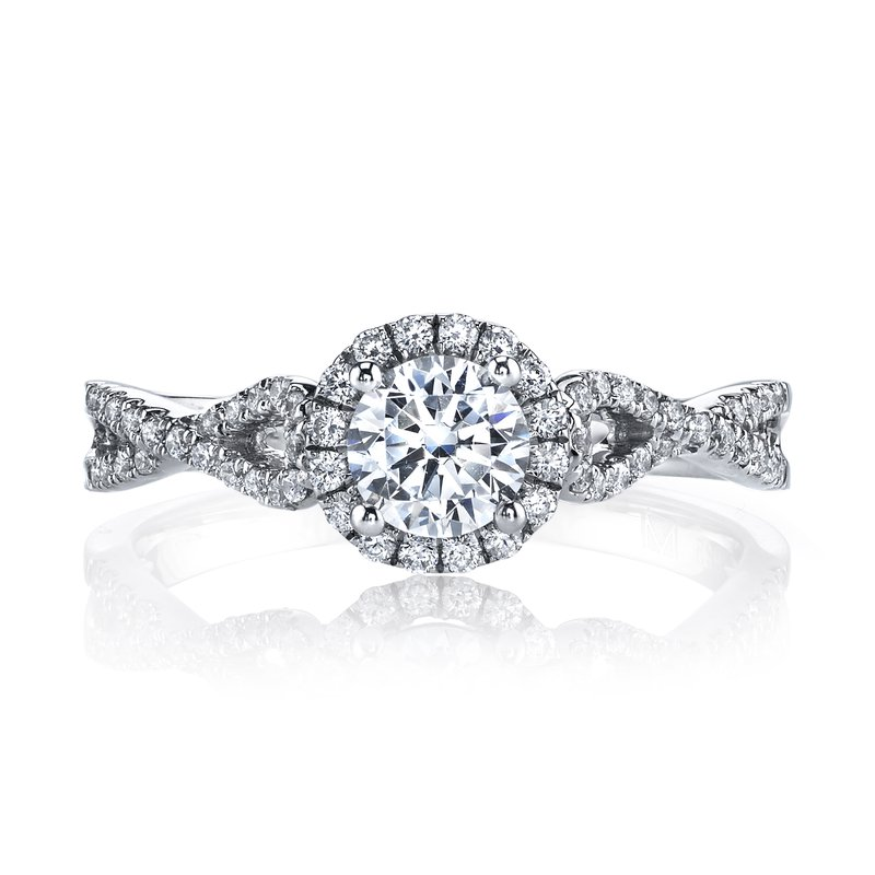 MARS Jewelry 25392 Diamond Engagement Ring 0.31 ct tw