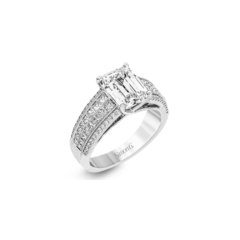 Simon G MR2497 ENGAGEMENT RING