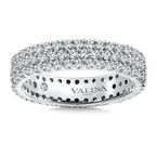 Valina Valina Eternity Band (Size 6.5) in 14K White Gold (1.58ct. tw.)
