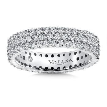 Valina Eternity Band (Size 6.5) in 14K White Gold (1.58ct. tw.)