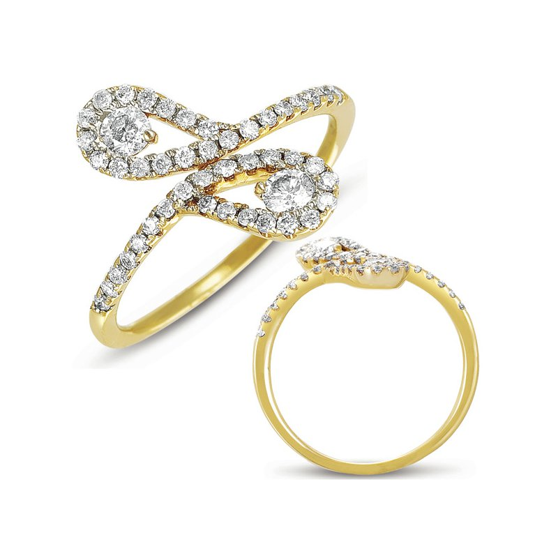 S. Kashi  & Sons Yellow Gold Diamond Ring