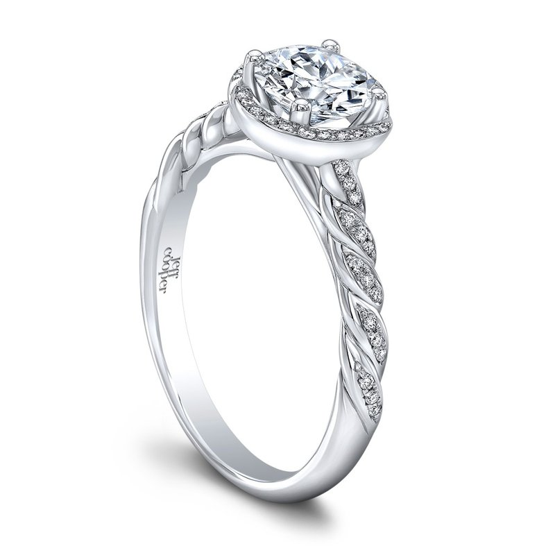 Jeff Cooper Luna Engagement Ring
