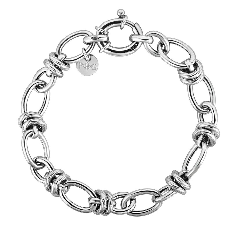 Royal Chain Sterling Silver Italian Cable Bracelet