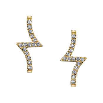 MARS 26620 Fashion Earrings, 0.14 Ctw.