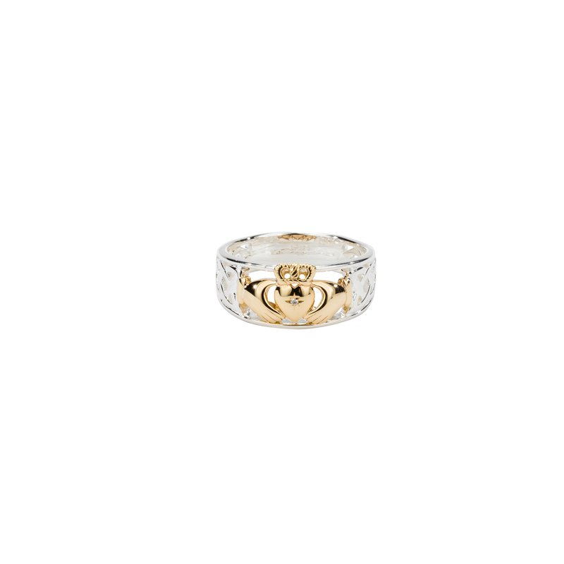 Keith Jack Claddagh Diamond Ring