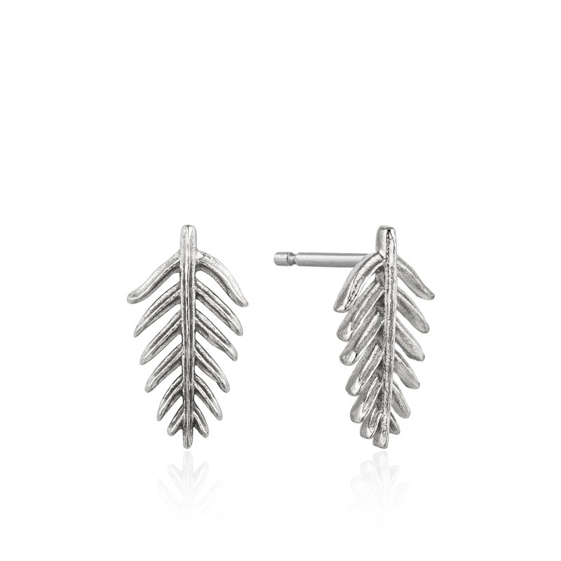 Ania Haie Palm Stud Earrings