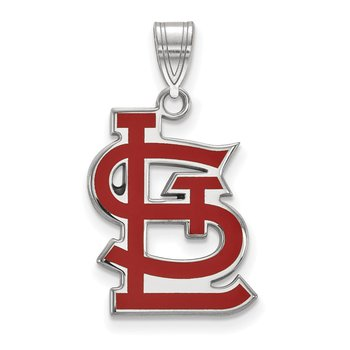 Sterling Silver St. Louis Cardinals MLB Pendant