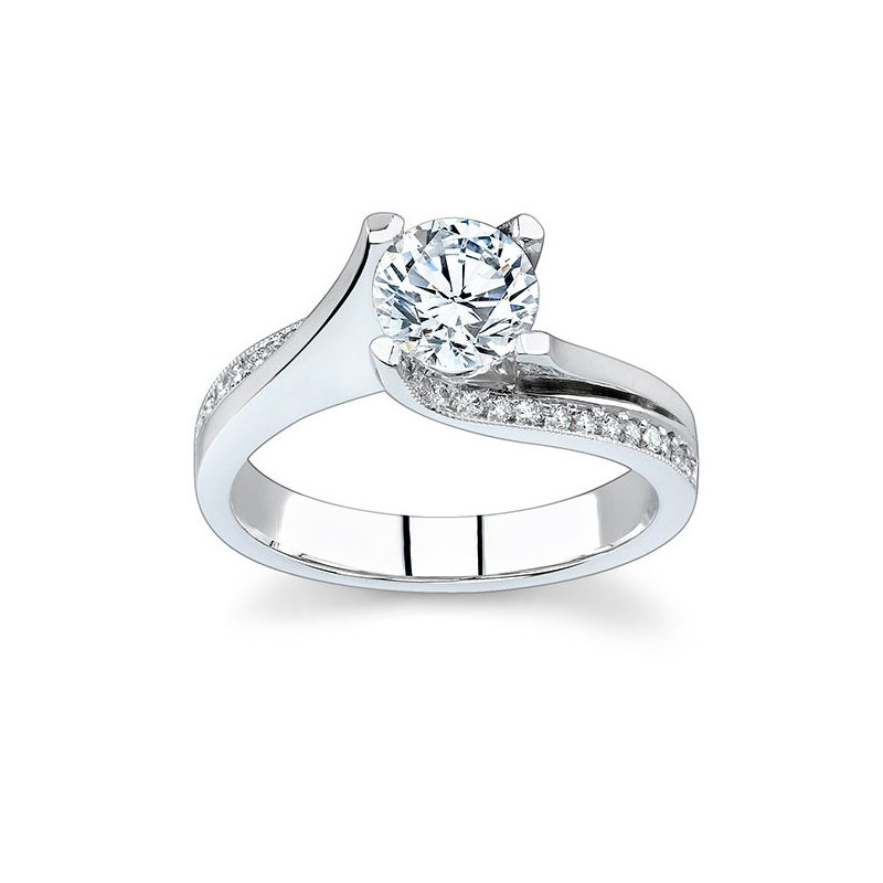 Barkev's Diamond Engagement Ring - 7171L