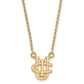 Gold-Plated Sterling Silver University of California Irvine NCAA Necklace