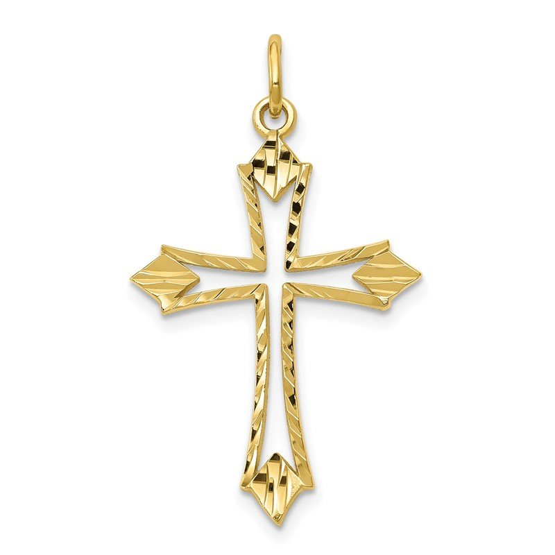Lester Martin Online Collection 10k Cross Charm