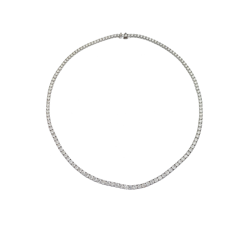 Roberto Coin Cento Graduated Riviera Necklace