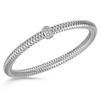 #25941 Of Flexible Bangle With Diamonds