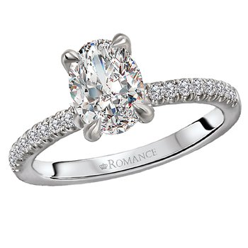 Diamond Semi Mount Diamond Ring
