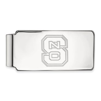 Gold North Carolina State University NCAA Money Clip