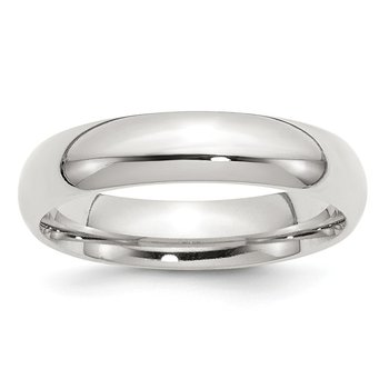 Sterling Silver 5mm Comfort Fit Band