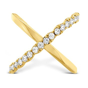 0.6 ctw. Lorelei Criss Cross Ring