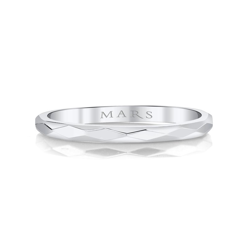MARS Jewelry MARS 27249 Facet Stackable Band
