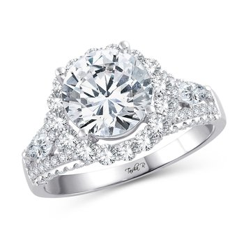 14K 1.15Ct Diam Semi Mount