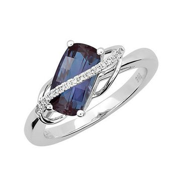 Alexandrite Ring-CR12388WAL