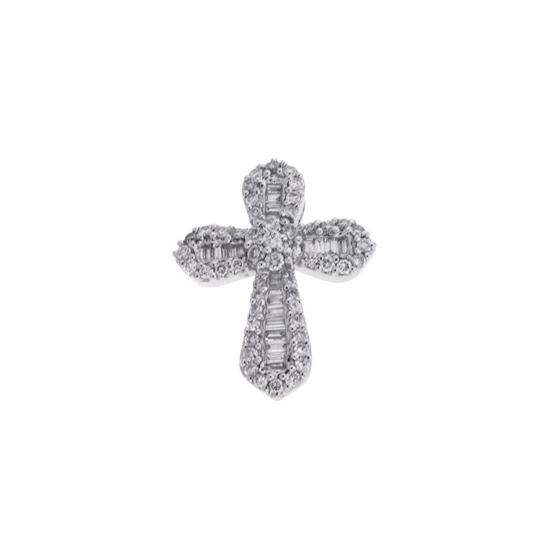 S. Kashi  & Sons Diamond Cross Pendant