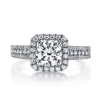 MARS 25126 Diamond Engagement Ring 0.47 Ctw.