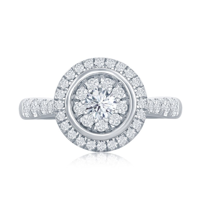 Veer Diamonds MELODY CIRCLE RING