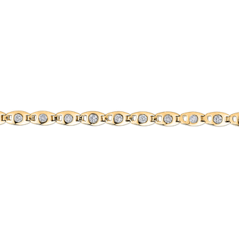 1.00 ct Round White Diamond Tennis Bracelet