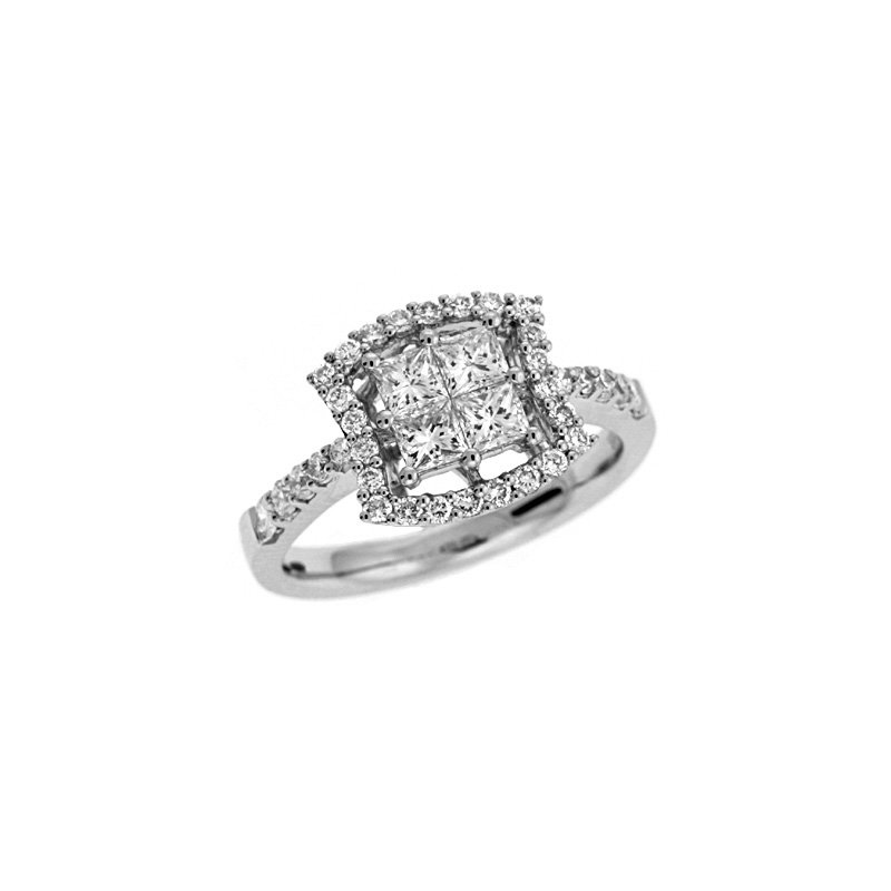 S. Kashi  & Sons White Gold Diamond Ring