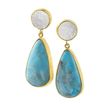 Valerian Gold Earrings