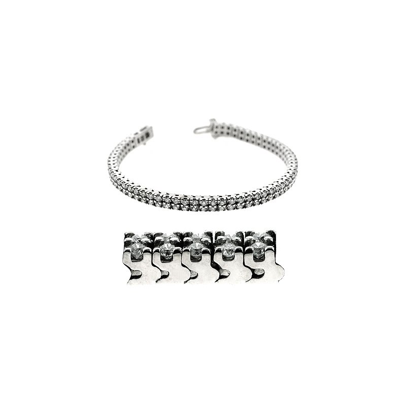 S. Kashi  & Sons Double Row Tennis Bracelet