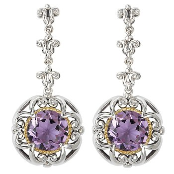 Ladies Fashion Gemstone Earrings