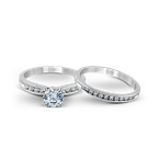 Zeghani ZR415 WEDDING SET