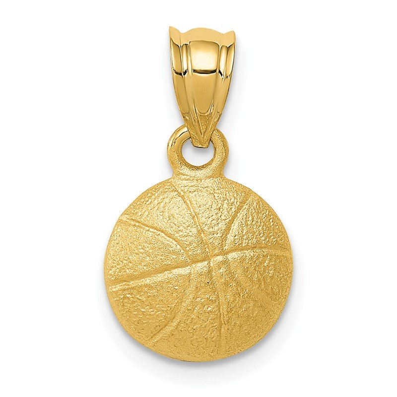 Quality Gold 14k Basketball Charm