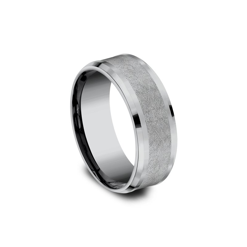 Tantalum Grey  Comfort-fit wedding band