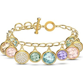 Tahlia Elements Bracelet, Multicolored, Gold-tone plated