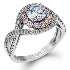 Simon G MR2496 ENGAGEMENT RING