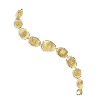 Lunaria Gold Graduated Medium Bracelet