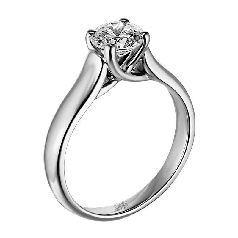 Scott Kay Palladium Engraved Three Sided Diamond Wedding: McGuire's Jewelers: Scott Kay M1051
