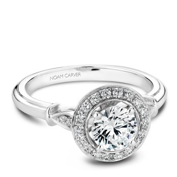 Noam Carver Vintage Engagement Ring B074-01A