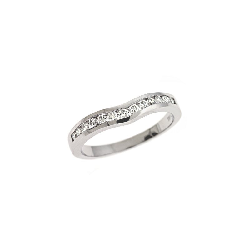 S. Kashi & Sons Bridal Palladium Diamond Band